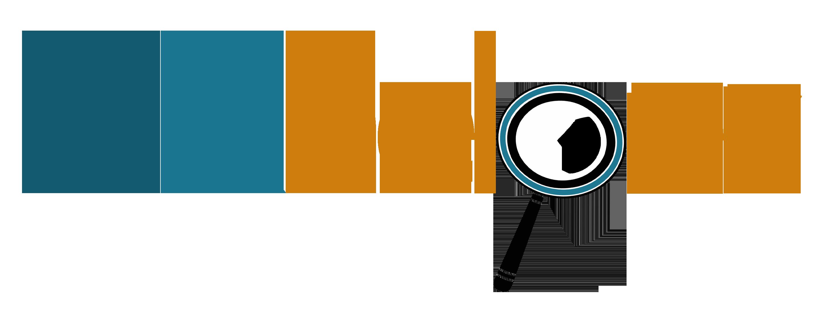 HRHelper where letter P is a magnifying glass